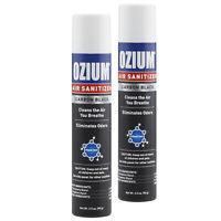 Ozium Air Cleans 3.5 oz. Ozium Spray, Carbon Black (2-PACK)