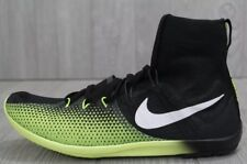 $120 NIKE Zoom Victory 4 XC Cross Country Running Shoes Spikes Black Volt 9.5