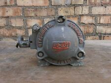 Very Rare FEDERAL SIGNAL Explosion Proof Industrial Horn Siren 220v 1972