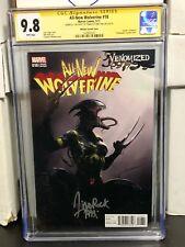 All-New Wolverine #18 CGC SS 9.8 Signed Francesco Mattina Venomized Variant