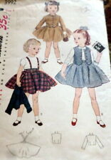 *LOVELY VTG 1940s SKIRT VEST & JACKET Sewing Pattern 4