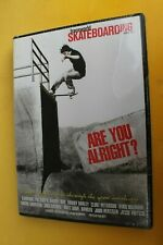 Are You Alright Transworld Danny Way Pat Duffy Skateboarding Dvd - New Sealed