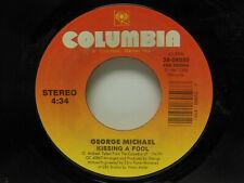 GEORGE MICHAEL: Kissing A Fool / Kissing A Fool (Instrumental), 45 RPM, VG+