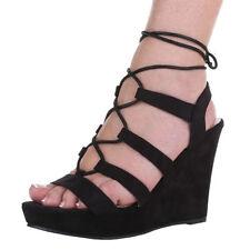 Markenlose Damen-Sandalen & -Badeschuhe mit Keilabsatz/Wedge 41 Größe