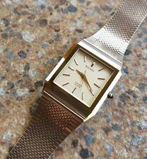 Vintage Citizen Exceed UHAG Quartz Dress Watch November 1981