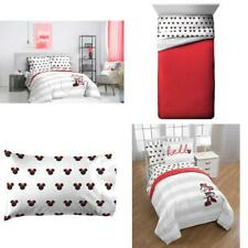 Minnie Mouse Striped Bed in a Bag Kids Bedding Set w/ Reversible Comforter