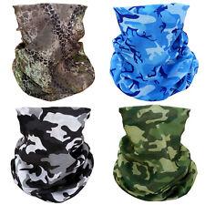 4 Camouflage Camo Face Mask Scarf Bandana Headband Neck Airsoft Motorcycle Bike