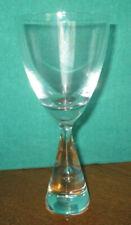 HOLMEGAARD CRYSTAL PRINCESS WHITE WINE GLASS SEVERN SIGNED MINT
