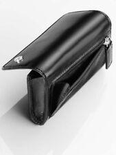 original Mercedes Benz Schlüssel Etui Schluessel hülle Case Kalbs Leder + Zipper