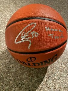 Stephen Curry Golden State Warriors Signed Basketball with Human Torch COA