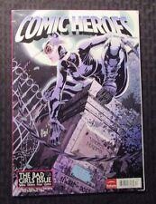 2012 COMIC HEROES Magazine #13 FN+ 5.5 UK Bad Girls Issue - Batgirl Cover