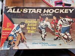CADACO All-Star Hockey Game Edition - Vintage - Complete in Box
