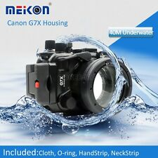 Meikon Underwater Waterproof Diving Housing Camera Case for Canon G7X Camera