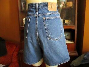 Zena Mom Jeans Shorts 90's Vintage Super High Waisted  Baggy Size 18 Waist 34