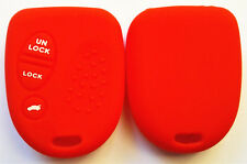 RED SILICONE KEY COVER for HOLDEN COMMODORE VS VT VX VY VZ WH WK WL