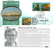 4 MAY 1999 WORKERS TALE PANE & STAMP DUAL BENHAM FDC SIGNED MICHAEL GRADE SHS