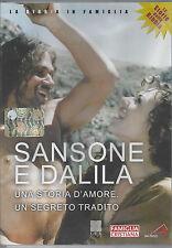 Dvd Video **SANSONE E DALILA** Le Storie della Bibbia storico / religioso Nuovo