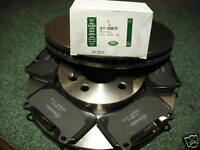 RANGE ROVER SPORT SUPERCHARGED/TDV8 FRONT DISCS & PADS SFP500070 SDB000624