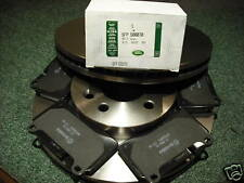 RANGE ROVER SPORT SUPERCHARGED/TDV8 FRONT DISCS&PADS SFP500070 SDB000624 GENUINE