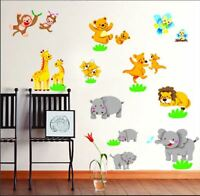 Animal zoo lion I Wall Decor Vinyl Decal Sticker Removable Nursery Kids Baby Art