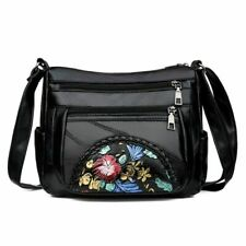 Women Shoulder Bags Genuine Leather Fashion Lady Purse For Ladies Luxury Flower
