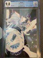 Thor 5 CGC 9.8 NM/MINT 4th print Virgin Black Winter Galactus Donny Cates story
