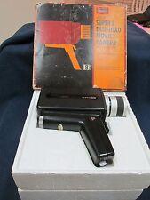 Vtg Sears Super 8 Movie Camera W/Pistol Grip 3-1 Auto Zoom Lens