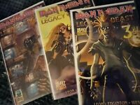 Iron Maiden comic lot Heavy Metal Comics Legacy of the Beast 2-4