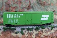 HO Scale Green Burlington Northern Box Car BN #100024