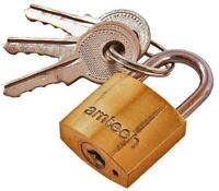 20mm Brass Padlock - AMTECH