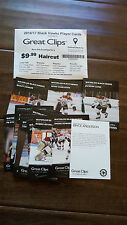 2016-17 WATERLOO BLACK HAWKS USHL 30 CARD SET SHANE BOWERS MIKEY ANDERSON SWANEY