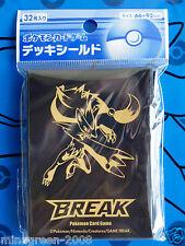 BNIP JAPAN POKEMON CARD GAME ZOROARK BREAK Official Card Deck Shield Sleeve 32P