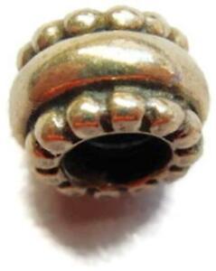 Celtic Bead Charm for European Bracelet Necklace Vintage Sterling Silver 925