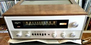McIntosh 1500 Tube Receiver With CASE EXCELLENT Condition Serviced Free US SHIP