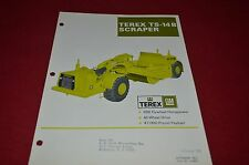 Terex TS-14B Scraper Pan Dealer's Brochure DCPA6 ver4