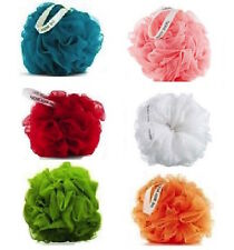 Body Shop Polisher Bath Sponge Puff Shower Lily Wash Scrunchie FULL SIZE -choose