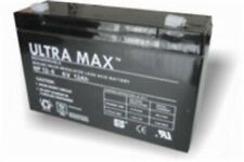 ULTRA MAX NP12-6,  6v 12Ah (as 10Ah ) Burglar Alarm Battery