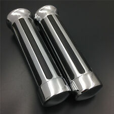 "for Harly Davidson all-models 1970-2012 with 1"" bars 1"" Chrome Handlebar Grips"