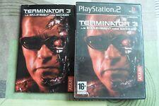 TERMINATOR 3 le soulèvement des machines ( PLAYSTATION 2 - SONY )  COMPLET