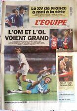 L'Equipe Journal 10/12/1996; L'OM et L'OL voient grand/ Tyson reste le plus rich