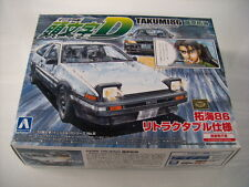 NEW AOSHIMA Initial D AE86 Trueno Takumi 86 1/32 Scale PLASTIC MODEL KIT