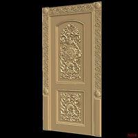 (510) STL Model Door for CNC Router 3D Printer  Artcam Aspire Bas Relief
