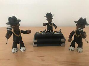 Run DMC Mezco Mez-Itz toy figures 2002 Hip-Hop Rap