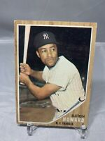 1962 TOPPS #400 ELSTON HOWARD VG + YANKEES