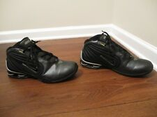 Classic 2002 Used Worn Size 12 Nike Shox Limitless TB Shoes Black & Silver