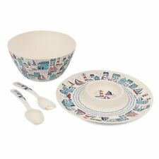 Cambridge COMBO-3334 Four-Piece Reusable Serveware Dinnerware Set | BPA Free