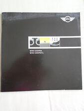 Mini Cooper & Cooper S range brochure 2001 USA market