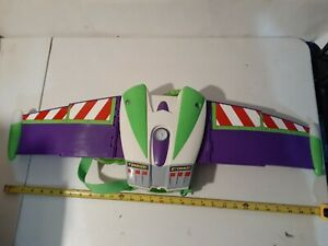 Disney Toy Story Buzz Lightyear Deluxe Action Wing Jet Pack Talking & Sounds