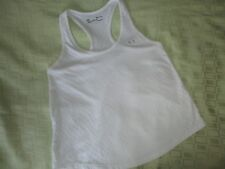 Under armour shirt women small heat gear sleeveless tank top loose white