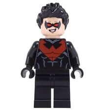 LEGO 76011 Batman: Man-Bat Attack Nightwing Minifigure w/ Batons
